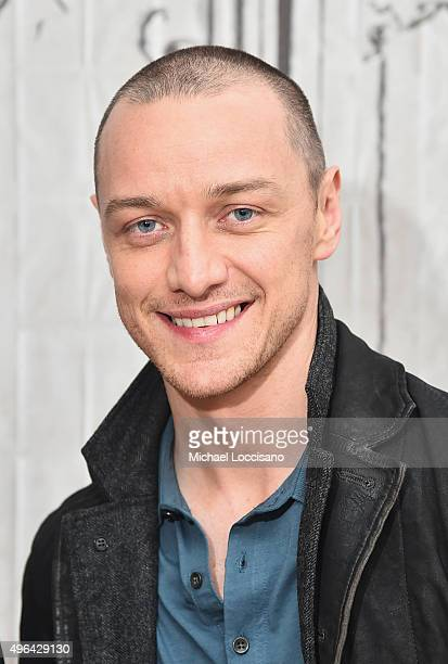 Actor James McAvoy attends the AOL BUILD Speaker Series 'Victor Frankenstein' at AOL Studios In New York on November 9 2015 in New York City
