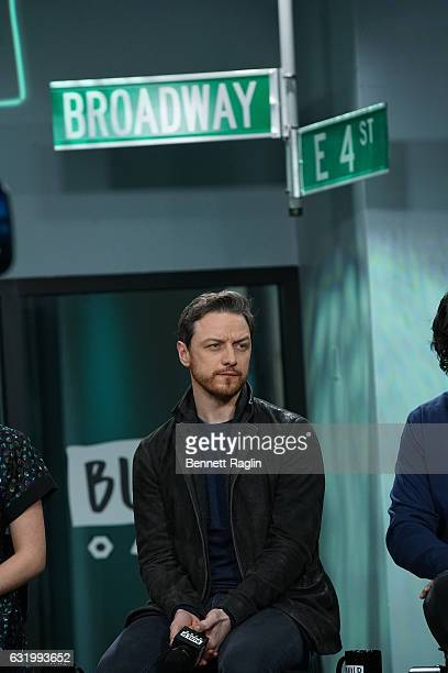 Actor James McAvoy attends the Build series at Build Studio on January 18, 2017 in New York City.