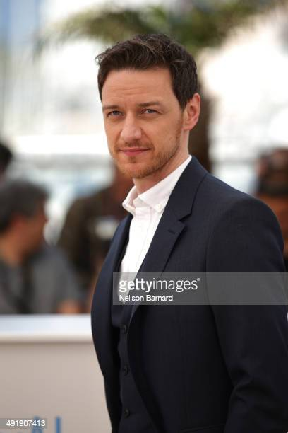 Actor James McAvoy attends 'The Disappearance of Eleanor Rigby' photocall at the 67th Annual Cannes Film Festival on May 18 2014 in Cannes France