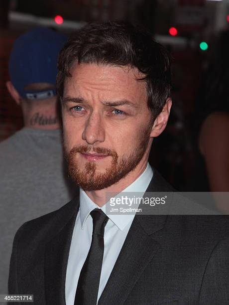 Actor James McAvoy attends the Prada and The Cinema Society screening of The Weinstein Company's 'The Disappearance of Eleanor Rigby' at Landmark's...