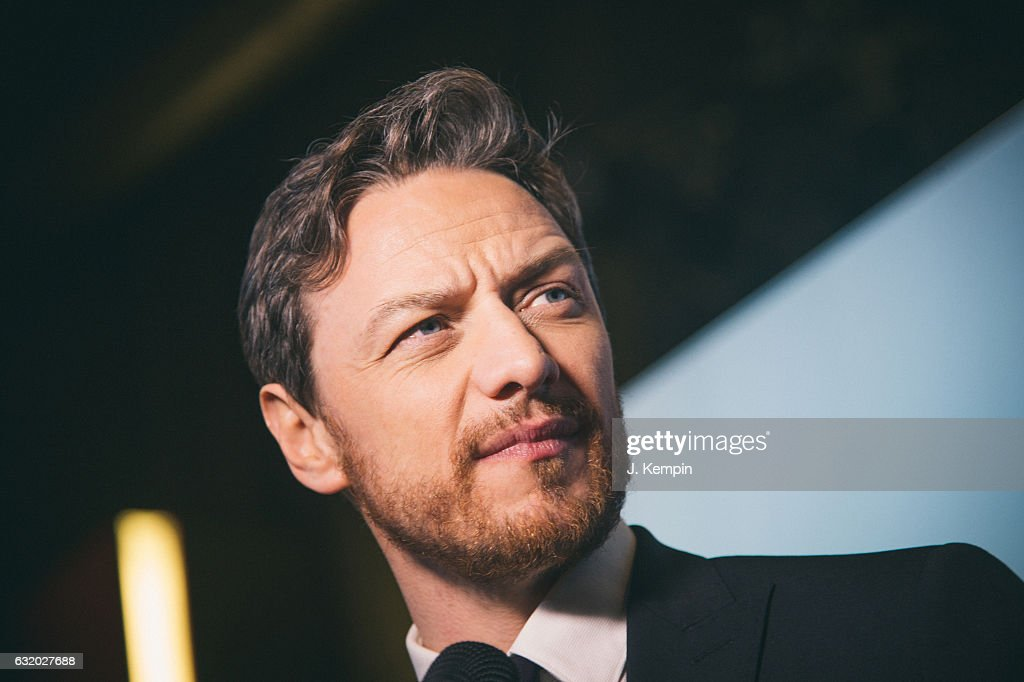 Actor James McAvoy attends the premiere of Split at SVA Theater on January 18, 2017 in New York City.