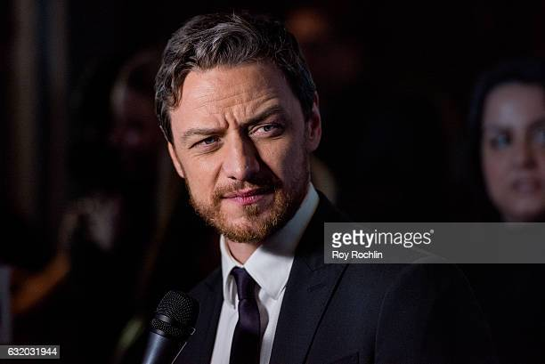 Actor James McAvoy attends the Split New York Premiere at SVA Theater on January 18 2017 in New York City