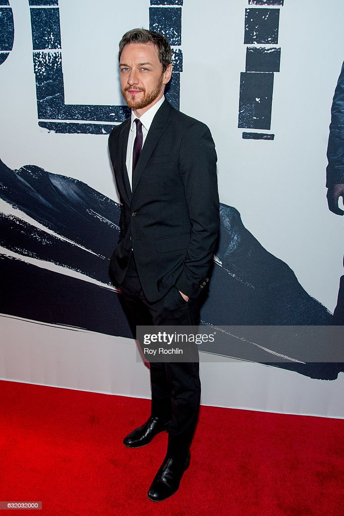 Actor James McAvoy attends the 'Split' New York Premiere at SVA Theater on January 18, 2017 in New York City.