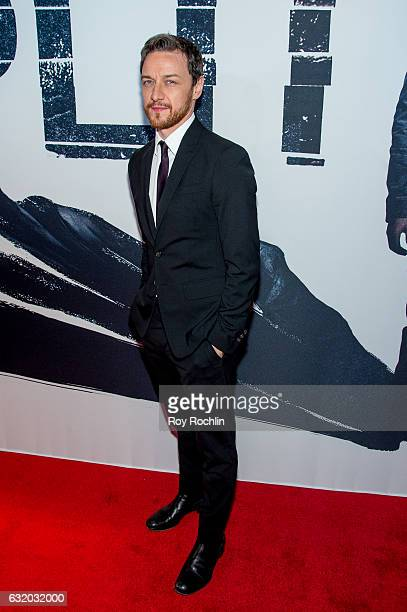 Actor James McAvoy attends the 'Split' New York Premiere at SVA Theater on January 18 2017 in New York City
