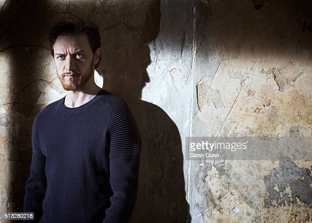 Actor James McAvoy is photographed for 20th Century Fox on February 15 2015 in London England