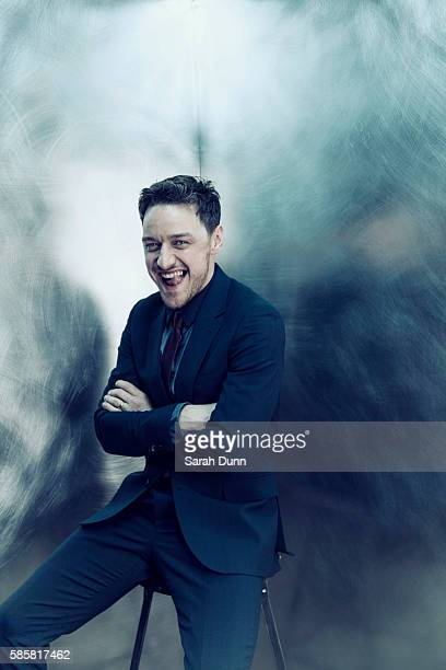 Actor James McAvoy is photographed for Empire magazine on March 30 2014 in London England