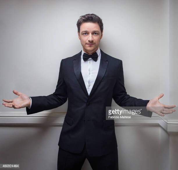 Actor James McAvoy is photographed for the Hollywood Reporter in Cannes France