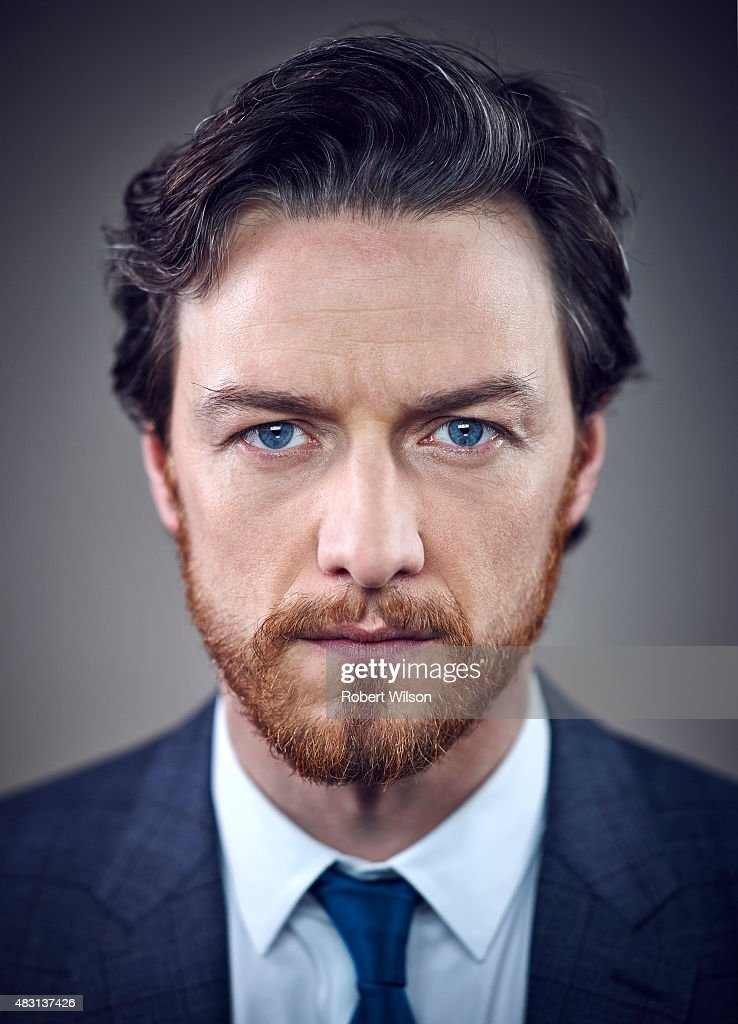 Actor James McAvoy is photographed for the Times on March 13, 2015 in London, England.