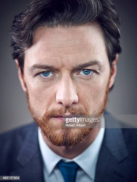Actor James McAvoy is photographed for the Times on March 13 2015 in London England