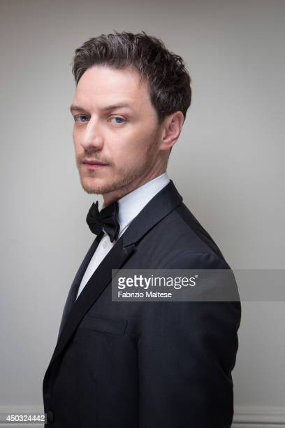 Actor James McAvoy is photographed in Cannes France