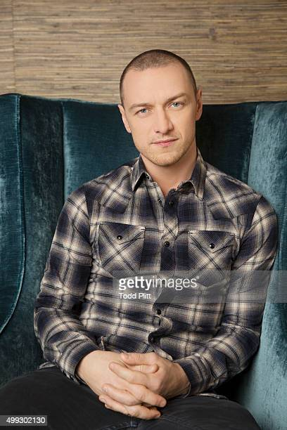 Actor James McAvoy is photogrpahed for USA Today on November 10 2015 in New York City