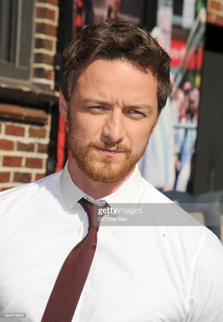 Actor James McAvoy is seen on August 27, 2014 in New York City.