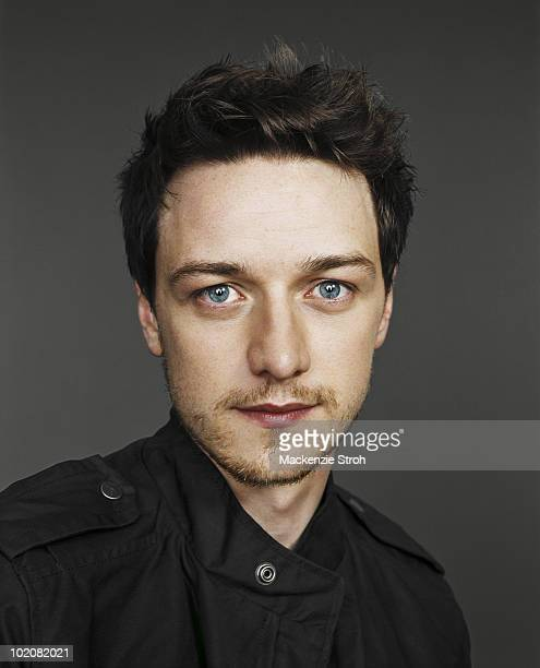 Actor James McAvoy poses for a portrait session at the Toronto Film Festival in September 2006 Published in Life Magazine October 27 2006