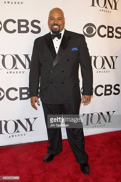 Actor James Monroe Iglehart attends the American Theatre Wing's 68th Annual Tony Awards at Radio City Music Hall on June 8 2014 in New York City