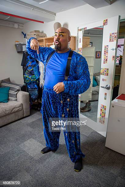 Actor James Monroe Iglehart is photographed for USA Today on May 28, 2014 in New York City. PUBLISHED IMAGE.