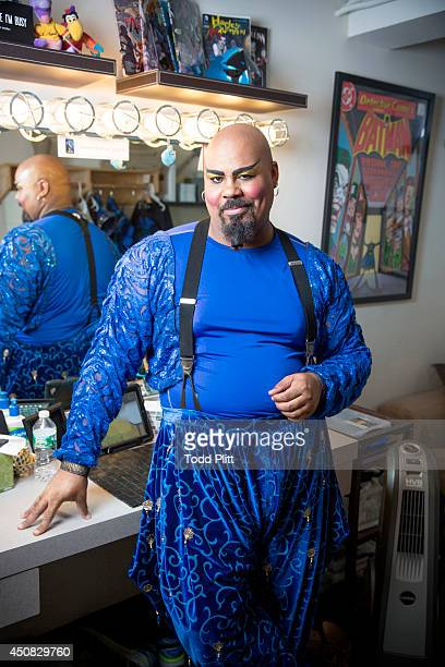 Actor James Monroe Iglehart is photographed for USA Today on May 28 2014 in New York City PUBLISHED IMAGE