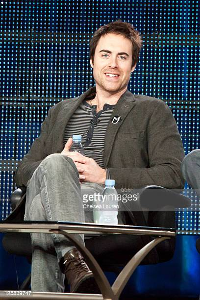 """Actor James Murray of """"Chaos"""" speaks at the 2011 CBS Winter TCA Panel at The Langham Huntington Hotel and Spa on January 14, 2011 in Pasadena,..."""