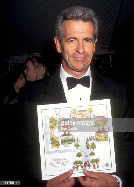 Actor James Naughton attends The Third Great Party to Save the Last Great Places Gala to Benefit The Nature Conservancy on June 3 1998 at Central...