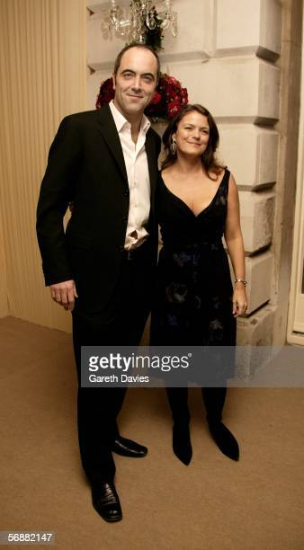 Actor James Nesbitt and his wife Sonia ForbesAdam attend The London Party hosted by United International Pictures and Variety on the eve of Orange...