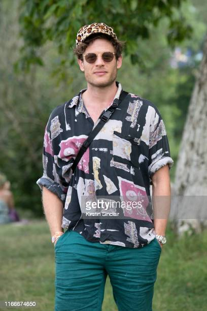 Actor James Norton at Wilderness Festival 2019 at Cornbury Park on August 3, 2019 in Oxford, England.