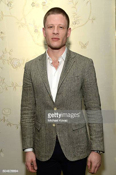 Actor James Norton attends The Weinstein Company And AE Networks 'War And Peace' Screening at The London West Hollywood on January 11 2016 in West...