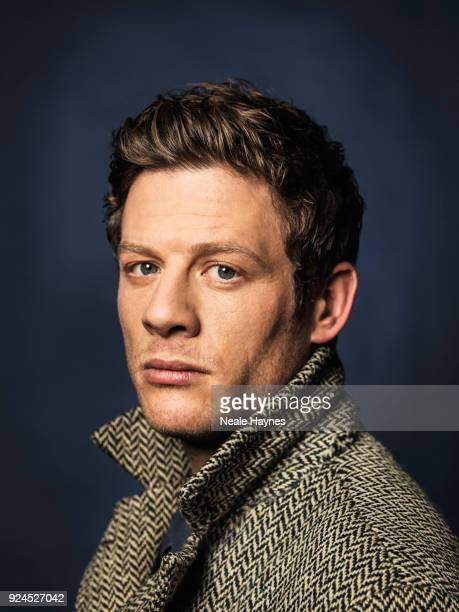Actor James Norton is photographed for the Times on December 19 2017 in London England