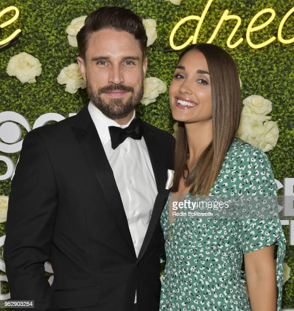 Actor James O'Halloran and Jaimee Gooley attend the CBS Daytime Emmy After Party at Pasadena Convention Center on April 29 2018 in Pasadena California