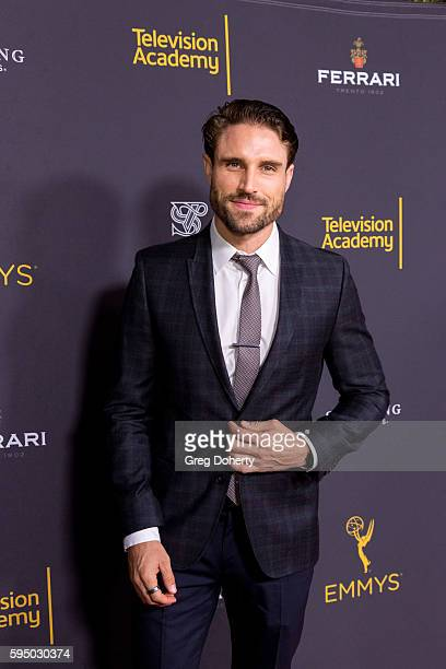 Actor James O'Halloran arrives at the Television Academy's Daytime Television Celebration at Saban Media Center on August 24 2016 in North Hollywood...