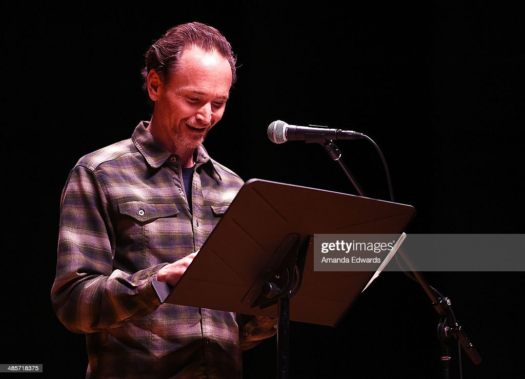 Actor James Parks participates in the world premiere of a staged reading by Quentin Tarantino: 'The Hateful Eight' presented by Film Independent at The Theatre at Ace Hotel Downtown LA on April 19, 2014 in Los Angeles, California.