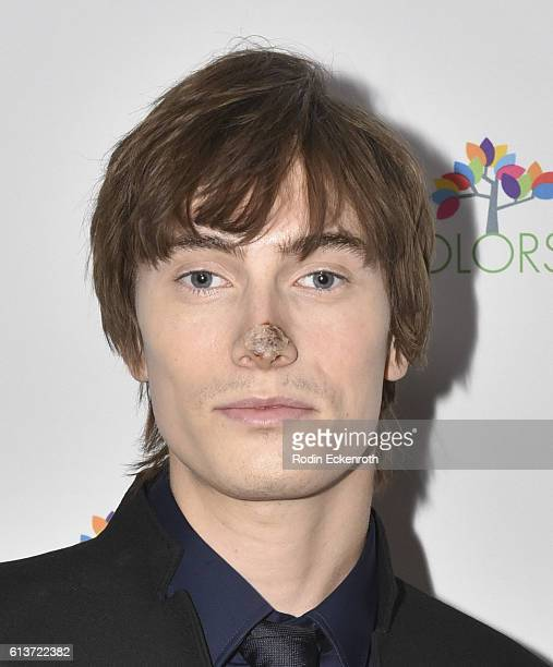 """Actor James Paxton attends Cyndi Lauper's True Colors Fund Inaugural """"Damn Gala"""" at Hollywood Athletic Club on October 9, 2016 in Hollywood,..."""