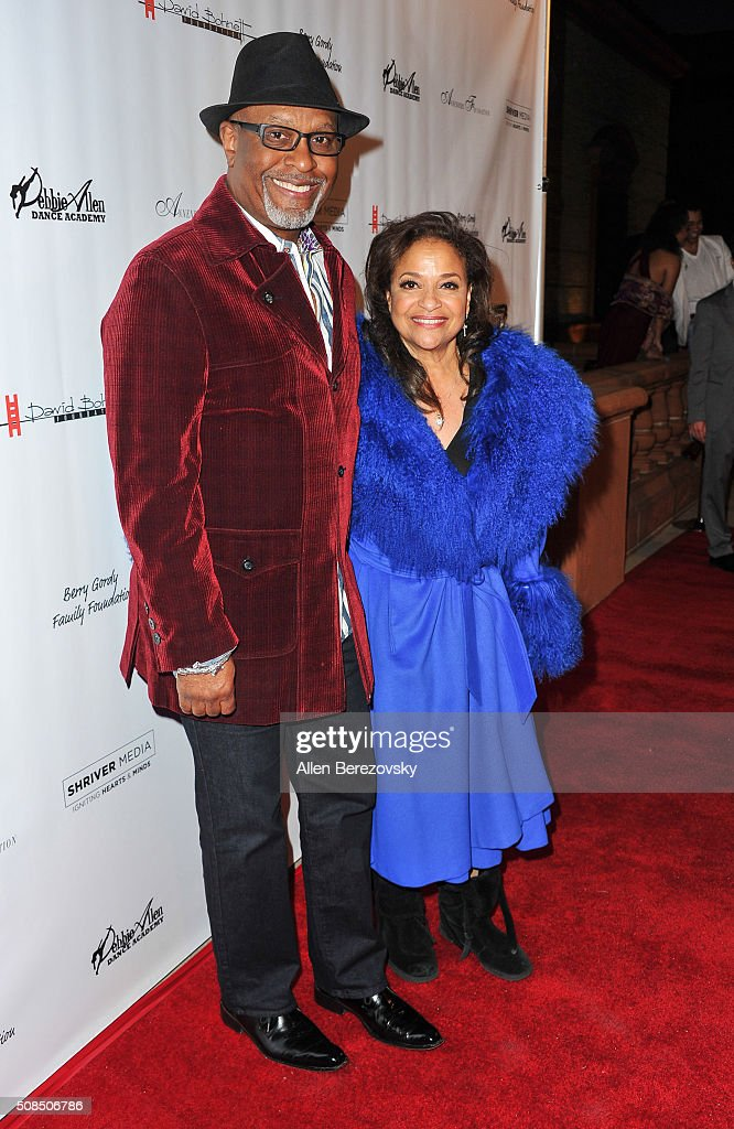 Actor James Pickens, Jr. and choreographer Debbie Allen attend the U.S. Premiere of Debbie Allen's 'Freeze Frame' at The Wallis Annenberg Center for the Performing Arts on February 4, 2016 in Beverly Hills, California.