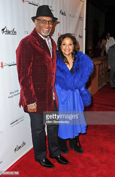 Actor James Pickens Jr and choreographer Debbie Allen attend the US Premiere of Debbie Allen's 'Freeze Frame' at The Wallis Annenberg Center for the...