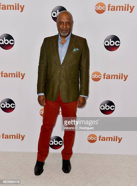 Actor James Pickens Jr attends Disney ABC Television Group's 2015 TCA Summer Press Tour at the Beverly Hilton Hotel on August 4 2015 in Beverly Hills...