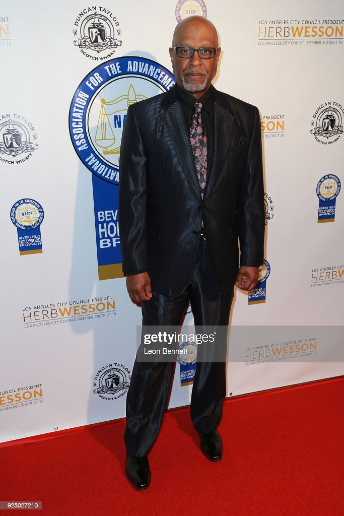 Actor James Pickens Jr. attends the 27th Annual NAACP Theatre Awards at Millennium Biltmore Hotel on February 26, 2018 in Los Angeles, California.