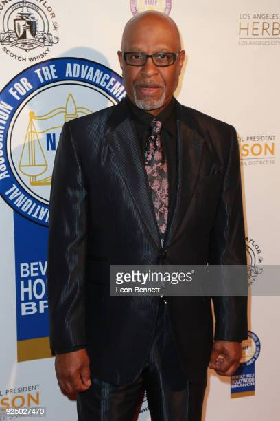 Actor James Pickens Jr attends the 27th Annual NAACP Theatre Awards at Millennium Biltmore Hotel on February 26 2018 in Los Angeles California