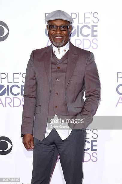 Actor James Pickens Jr attends the People's Choice Awards 2016 at Microsoft Theater on January 6 2016 in Los Angeles California