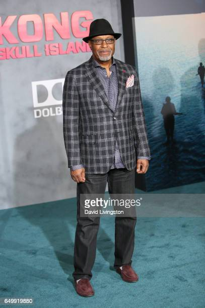 Actor James Pickens Jr attends the premiere of Warner Bros Pictures' 'Kong Skull Island' at Dolby Theatre on March 8 2017 in Hollywood California