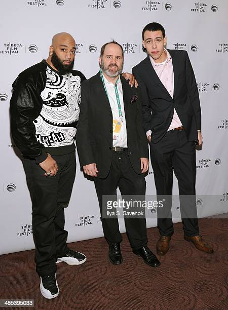 Actor James 'Primo' Grant Keith Miller and John Diaz attend the Five Star Premiere during the 2014 Tribeca Film Festival at Chelsea Bow Tie Cinemas...