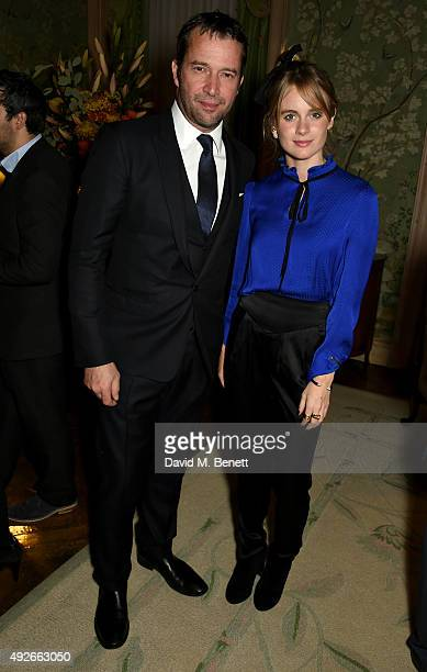 Actor James Purefoy and Cressida Bonas attend The Academy Of Motion Pictures Arts Sciences new members reception hosted by Ambassador Matthew Barzun...