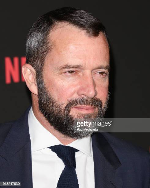 "Actor James Purefoy attends Netflix's ""Altered Carbon"" season 1 premiere at Mack Sennett Studios on February 1, 2018 in Los Angeles, California."