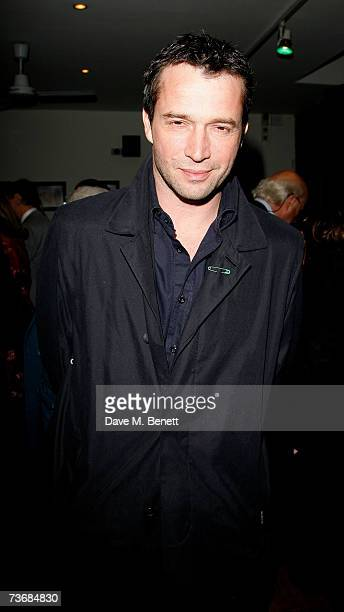 Actor James Purefoy attends the a fundraiser party for the Almeida Theatre at the Almeida Theatre on March 23 2007 in London England