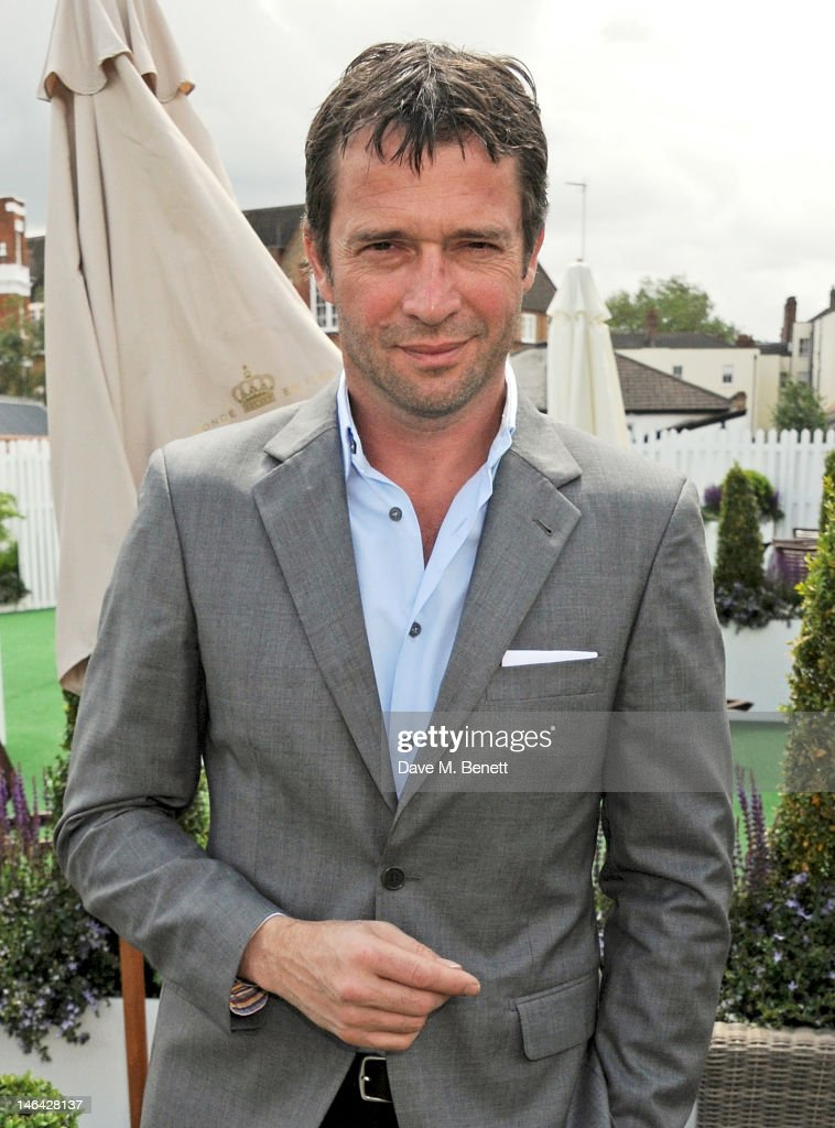 Actor James Purefoy attends the Moet & Chandon suite at The Queen's Club Tennis Championships on June 16, 2012 in London, England.
