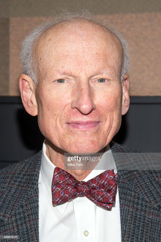 Actor James Rebhorn attends the 'Too Much, Too Many, Too Much, Too Many' Opening Night after party at HB Burger on November 20, 2013 in New York City.