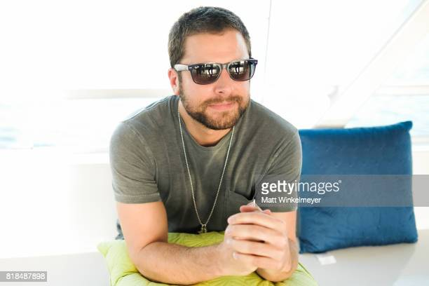 Actor James Roday attends Steve Howey's Surprise 40th Birthday Party on July 16 2017 in Los Angeles California