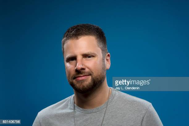 Actor James Roday from the film 'Psych The Movie' is photographed in the LA Times photo studio at ComicCon 2017 in San Diego CA on July 22 2017...