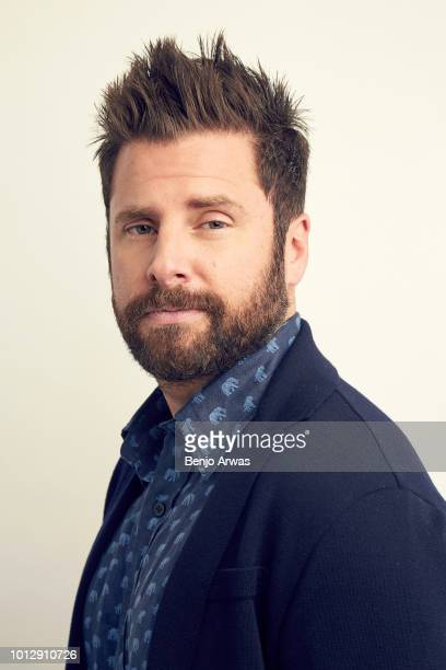 Actor James Roday of ABC's 'A Million Little Things' poses for a portrait during the 2018 Summer Television Critics Association Press Tour at The...