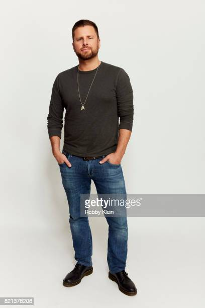 Actor James Roday USA Network's 'Psych' poses for a portrait during ComicCon 2017 at Hard Rock Hotel San Diego on July 21 2017 in San Diego California