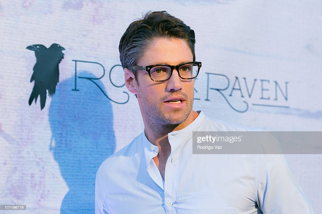 Actor James Scott attends the artist's reception for Billy Zane's solo art exhibition 'Seize The Day Bed' on August 21, 2013 in Los Angeles, California.
