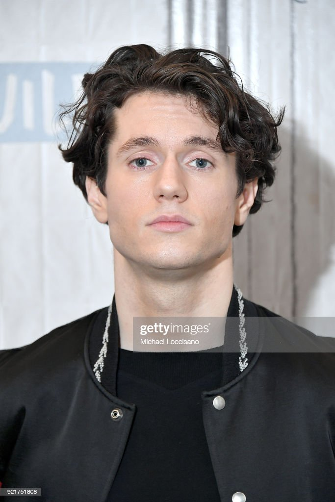 Actor James Scully visits Build Studio to discuss the TV series 'Heathers' at Build Studio on February 20, 2018 in New York City.