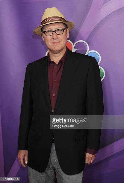 Actor James Spader arrives at the 2013 NBC Television Critics Association's Summer Press Tour at The Beverly Hilton Hotel on July 27 2013 in Beverly...